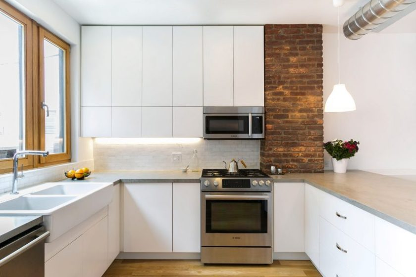 Sunset Park Row House by Bostudio