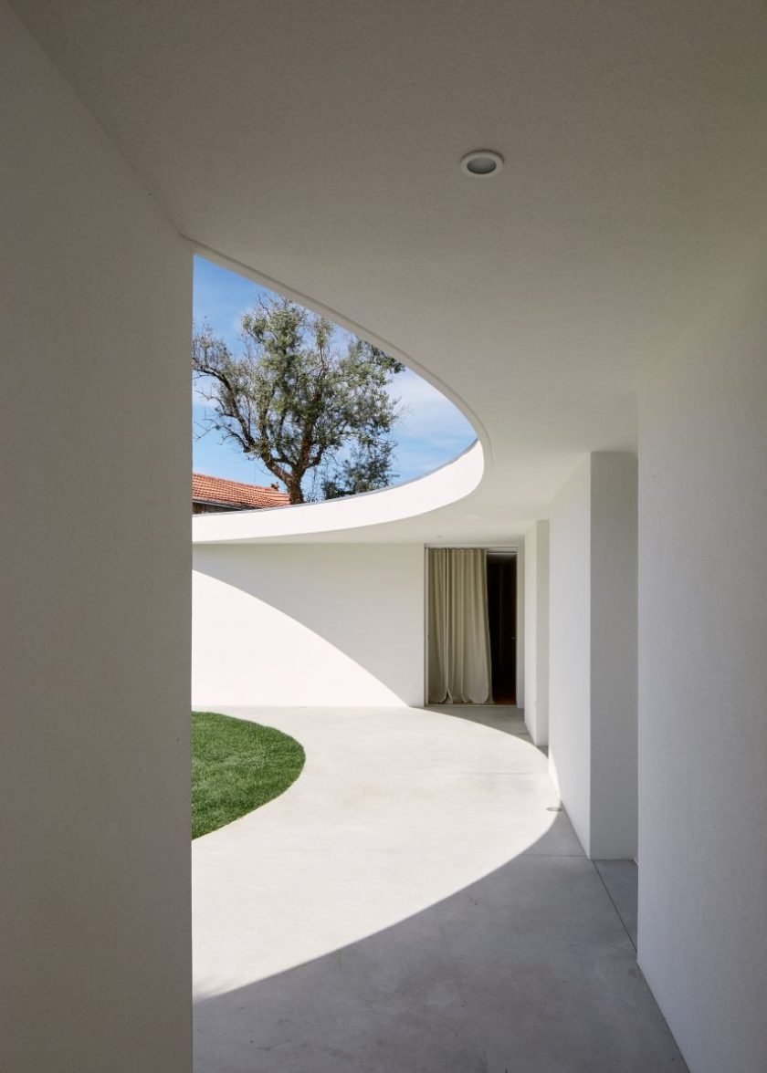 Local architect Bruno Dias has renovated a traditional house in the Portuguese town of Ansião