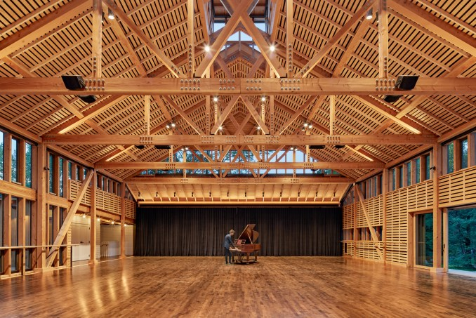 Jacob's Pillow Performing Arts Studio by Flansburgh Architects