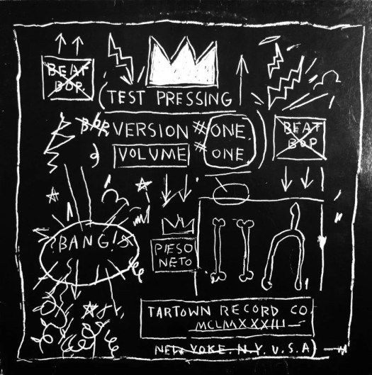 Basquiat: Boom for Real exhibition at the Barbican in London.