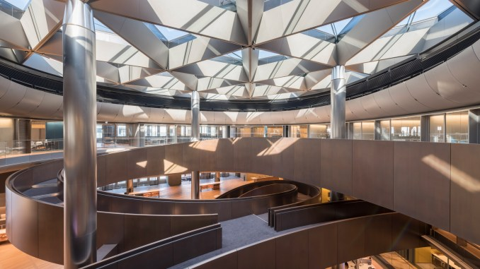 Bloomberg building by Foster + Partners