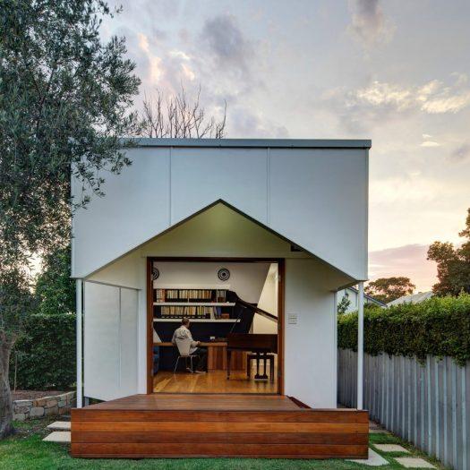 Newcastle music studio by M3 Architecture