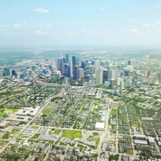 Plan Downtown Houston by Downtown District