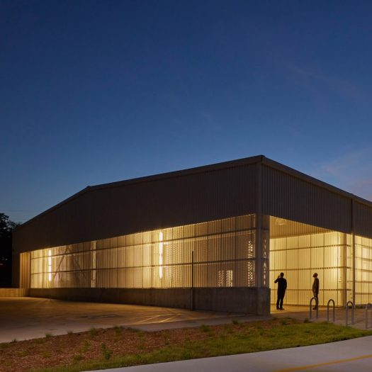 University of Arkansas art building by El Dorado