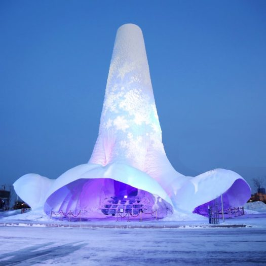Flamenco Ice Tower by Eindhoven University of Technology