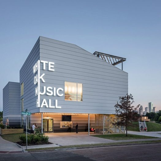 White Oak Music Hall by Schaum/Shieh