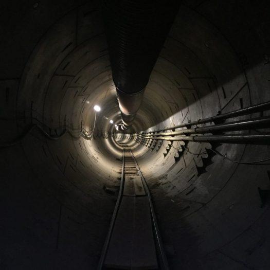 Boring Company tunnel