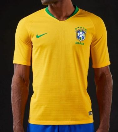 La prima del Brasile firmata Nike | numerosette.eu