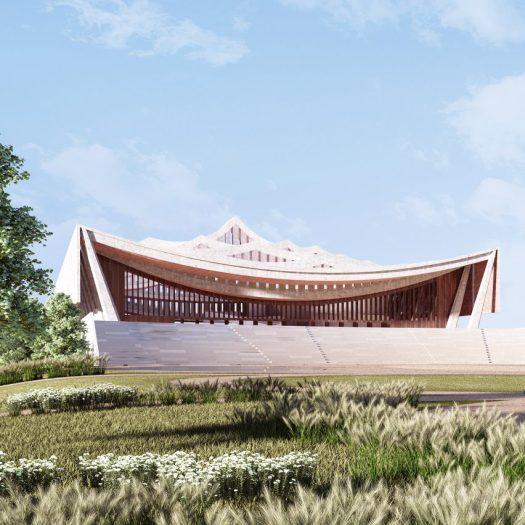 National Cathedral of Ghana by David Adjaye