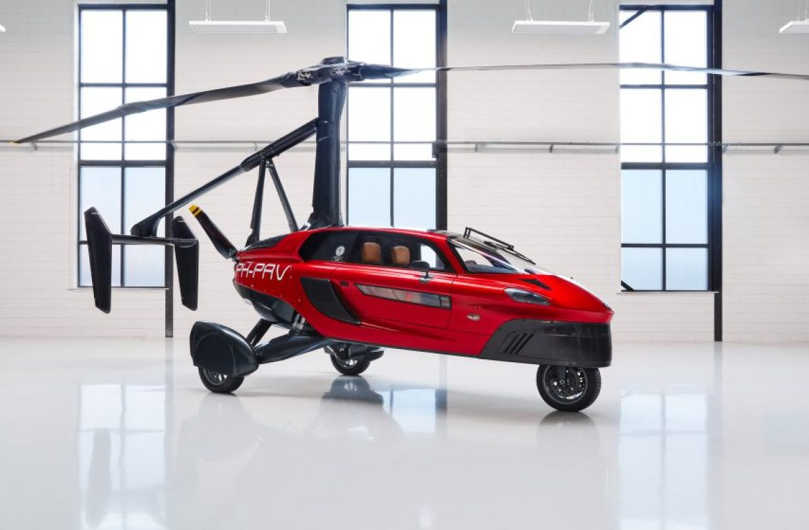 """Pal-V presents """"world's first"""" certified commercial flying car"""
