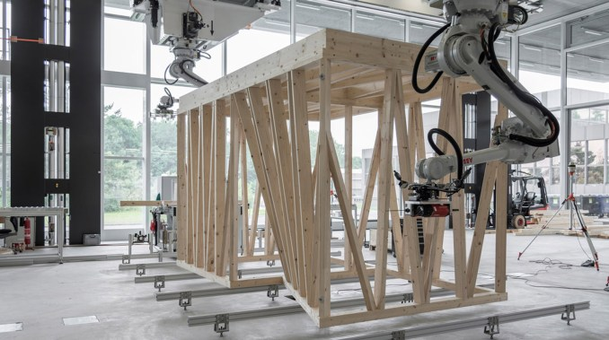 Spatial Timber Assemblies by ETH Zurich