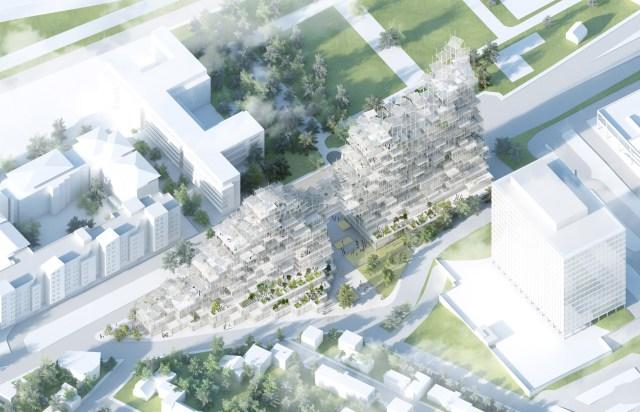 Vertical Village by Sou Fujimoto, Nicolas Laisné and Dimitri Roussel