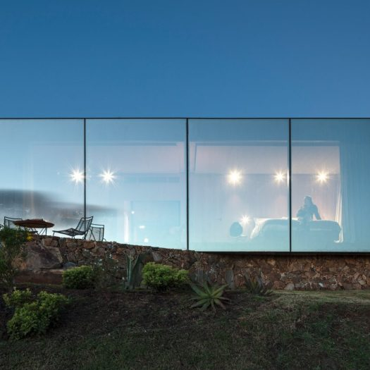 Sacromonte Landscape Hotel shelters by MAPA Architects