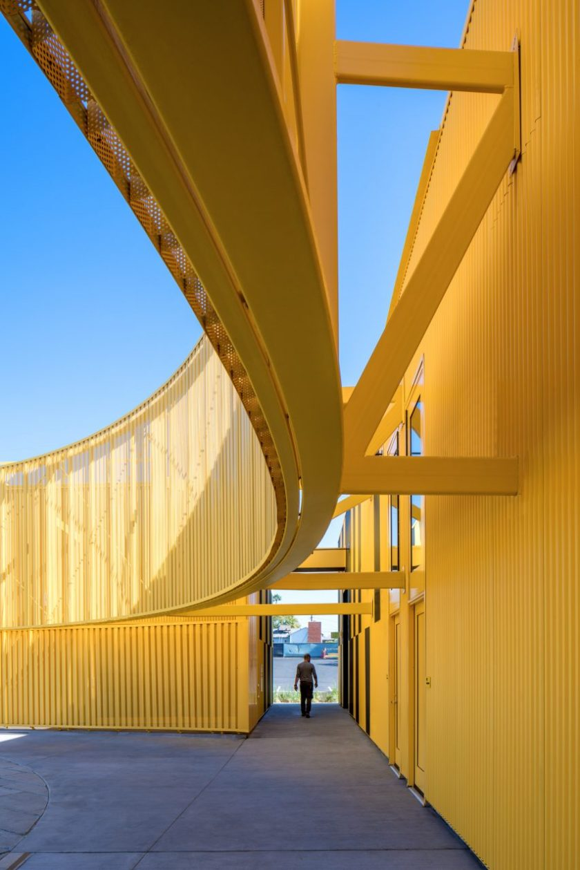 South Los Angeles High by Brooks Scarpa