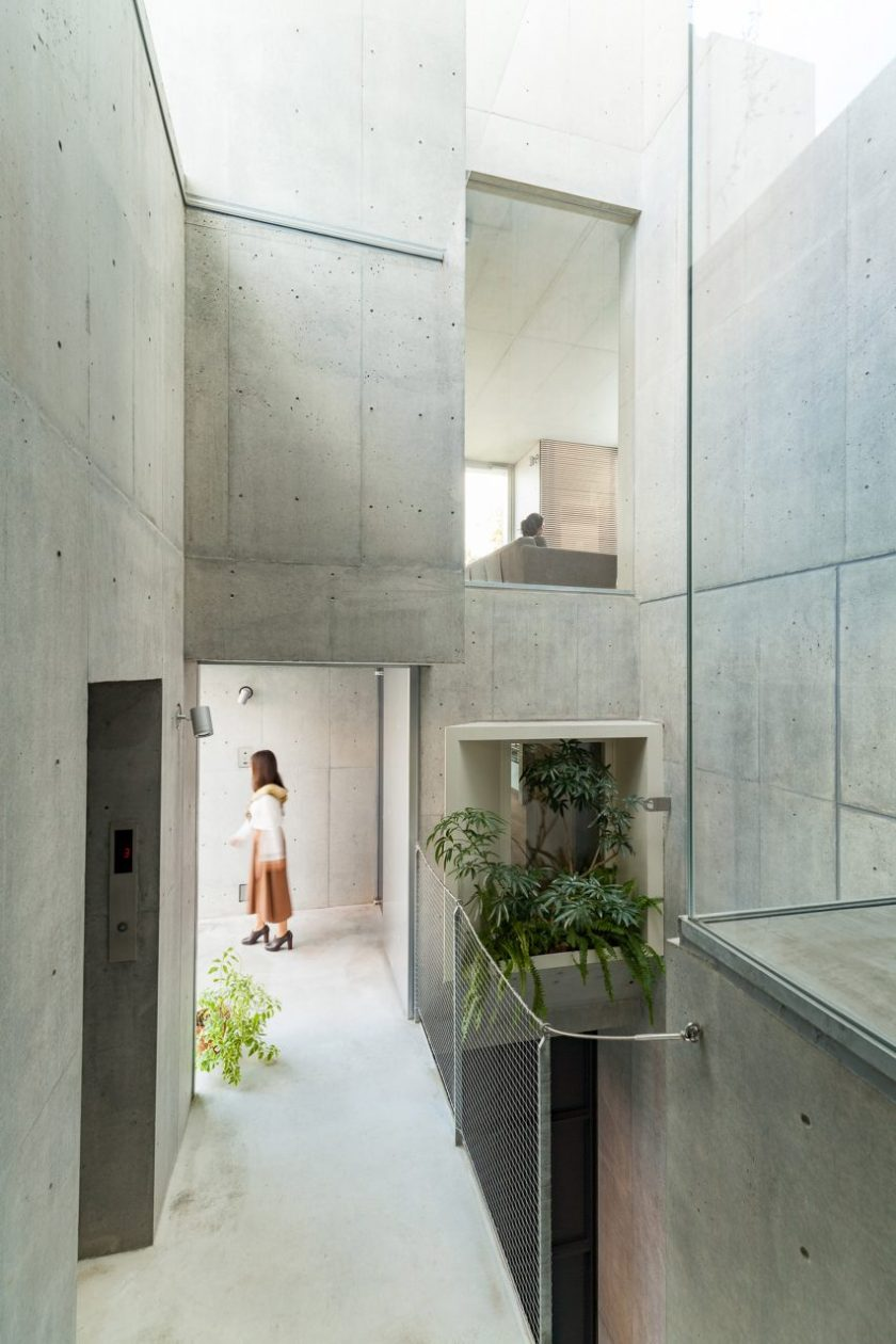 "Akihisa Hirata stacks concrete boxes to create ""futuristic and savage"" Tree-ness House"