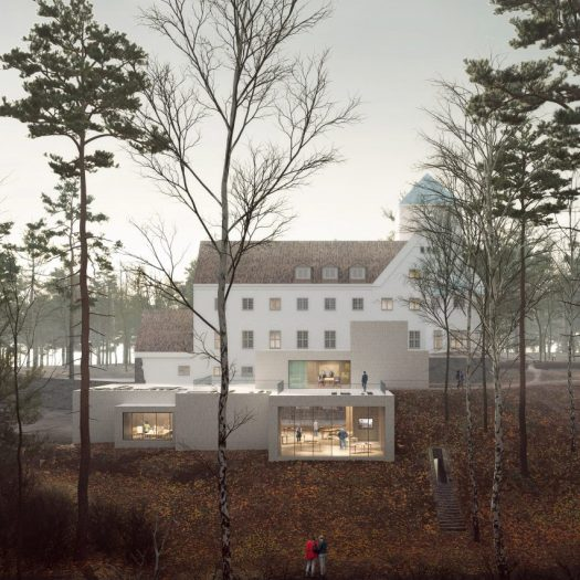 Center for Studies of Holocaust extension by Transborder Studio