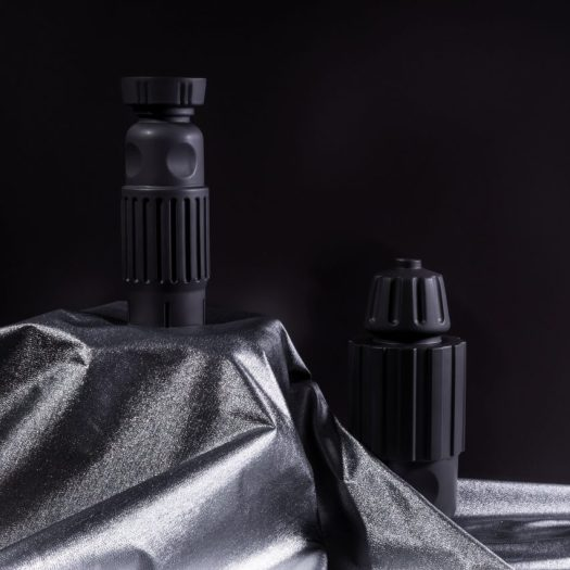 Pulpo debut black vessels inspired by traditional Dutch cabinets