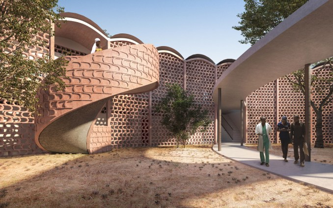 Tambacounda Hospital extension by Manuel Herz Architects