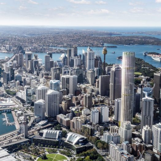 Sydney's tallest residential tower by Ingenhoven Architects and Architectus
