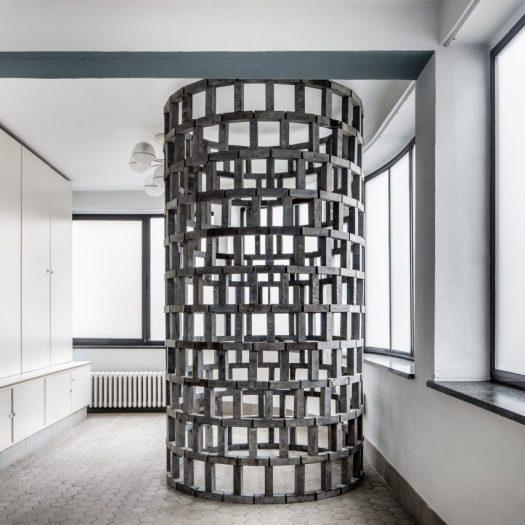 Conrad Willems creates modular stone structures based on children's building blocks