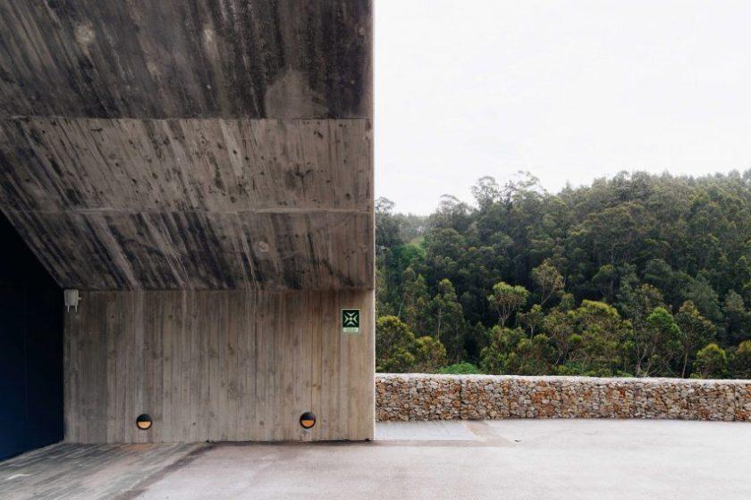 Ermida dam control centre by Pedro Geraldes