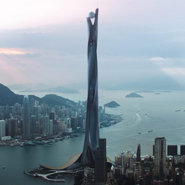 """Skyscraper movie director wanted """"a tower based on real ..."""