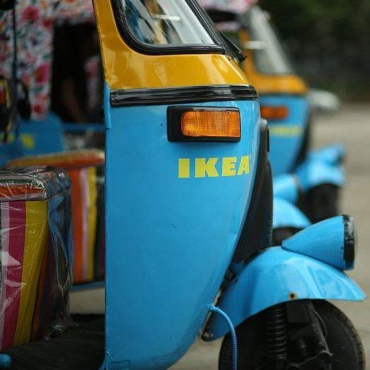 IKEA India electric rickshaws