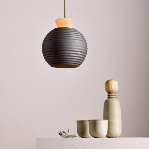 Lighting and ceramics by Brave Matter