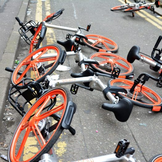 Mobike withdraws from Manchester due to vandalism