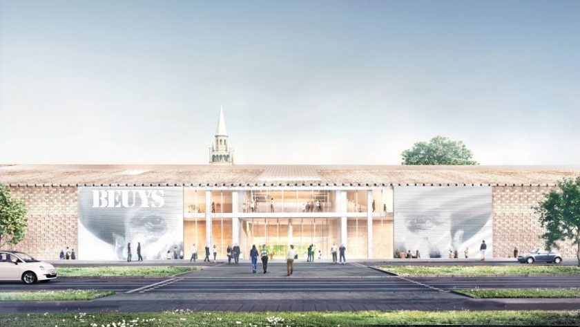 Berlin's Museum of the 20th Century by Herzog & de Meuron