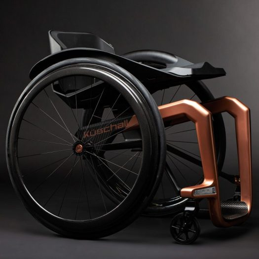 Superstar graphene wheelchair by Küschall