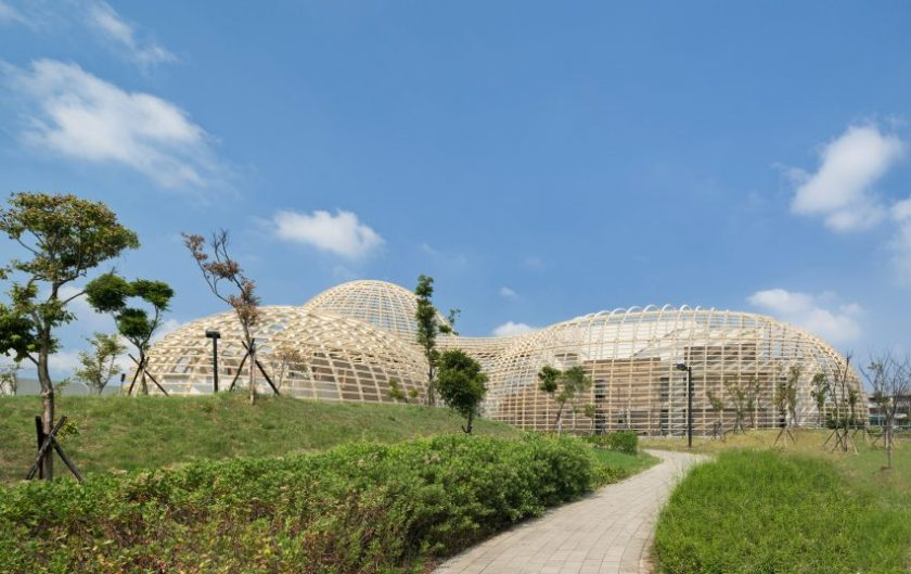 Taoyuan Sewage Treatment Project by Habitech Architects
