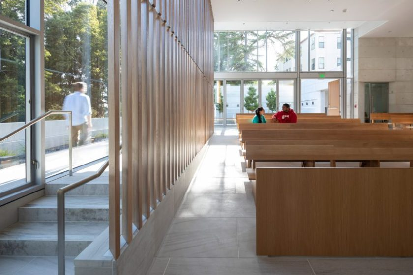 St Mary's Chapel by Cavagnero Associates