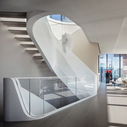 Penthouse at 520 West 28th by ZHA