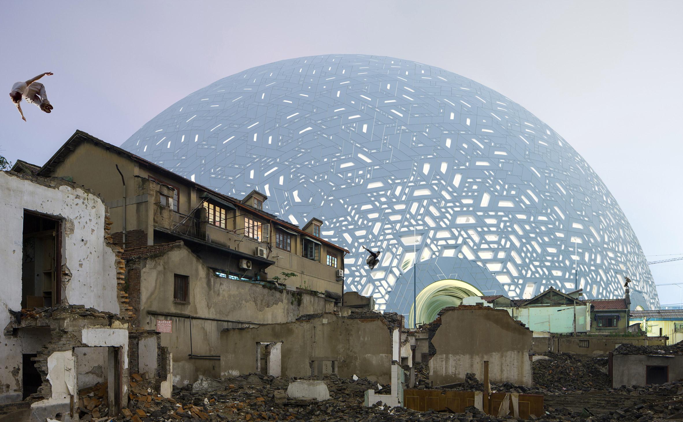 Puzzle Ball Theatre by Steven Chilton Architects