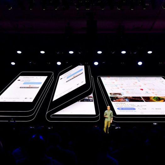 Samsung unveils foldable smartphone