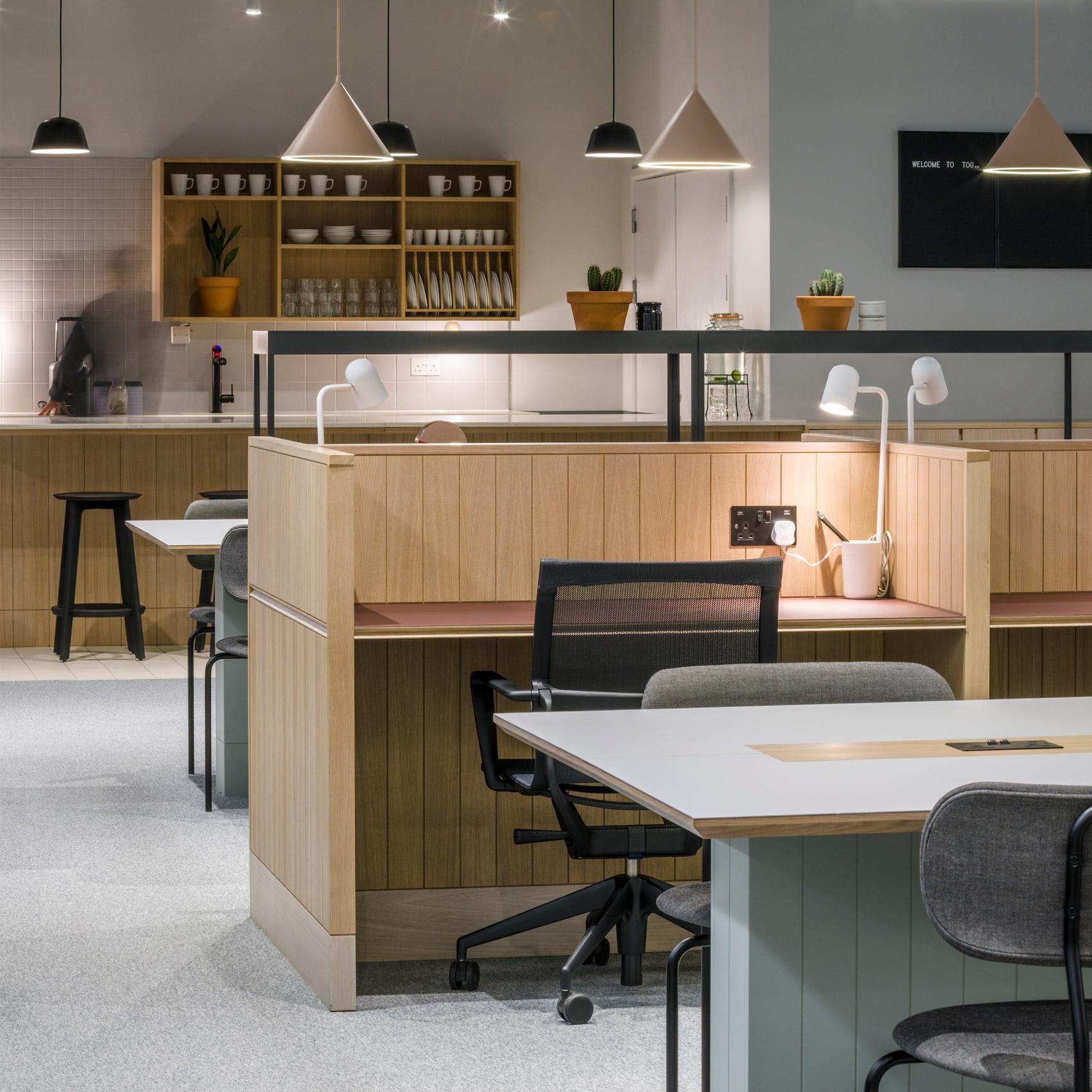 Top 10 office interiors: Thomas House, UK by SODA