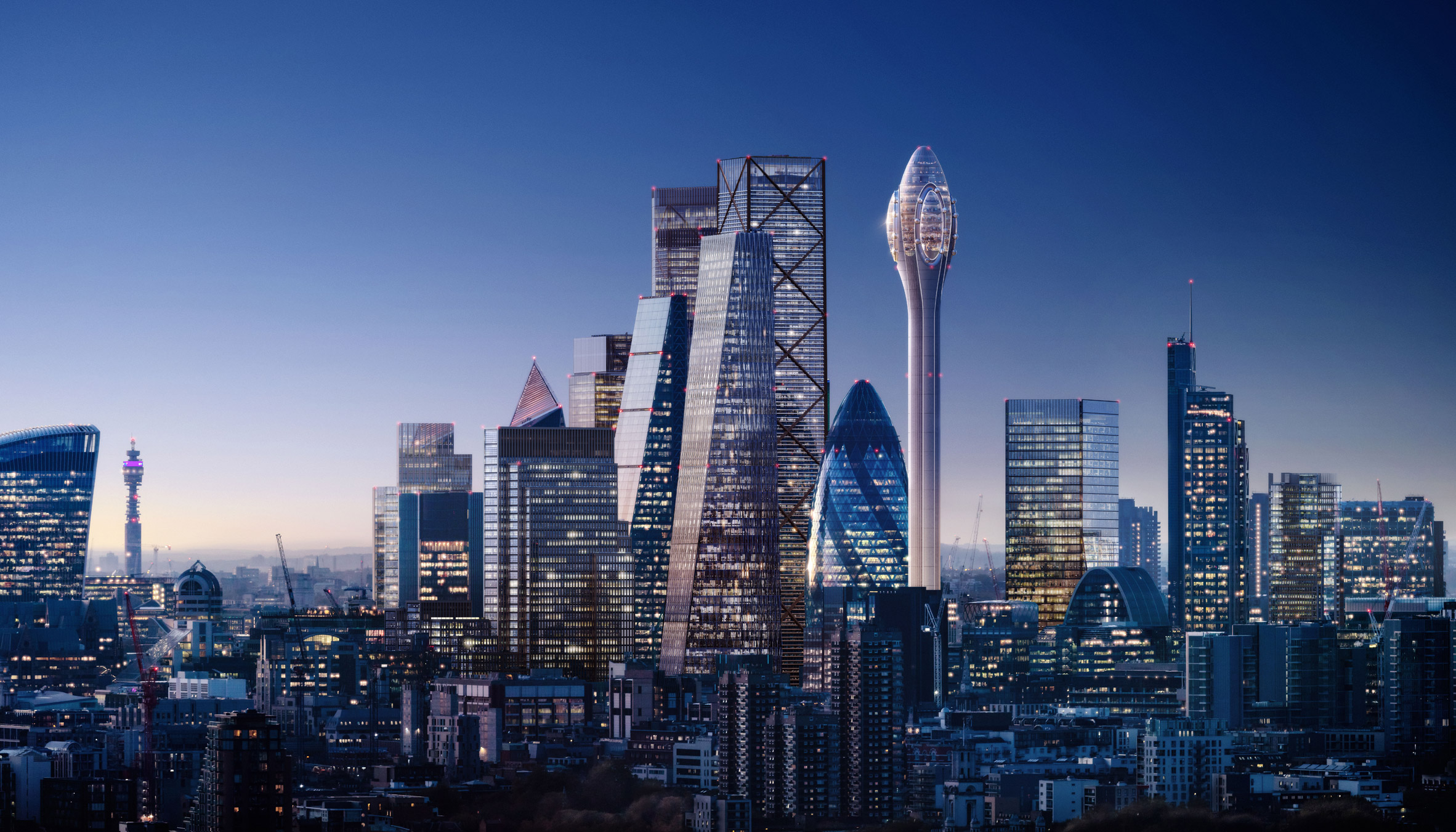 The Tulip by Foster + Partners