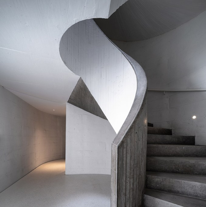 Staircase of UCCA Dune Art Museum by OPEN Architecture