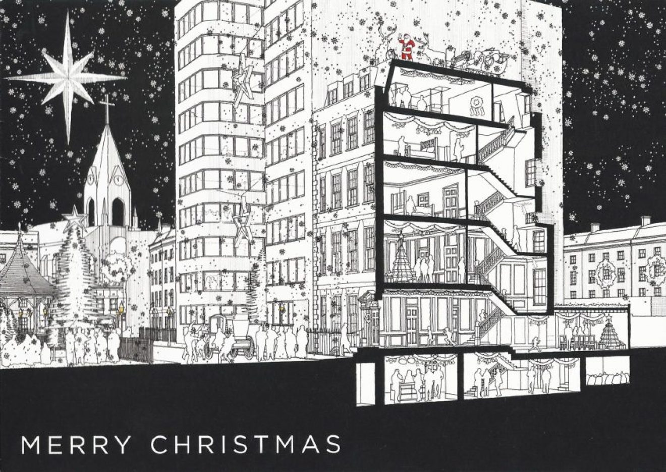 Gibson Thornley Architects' 2018 Christmas card