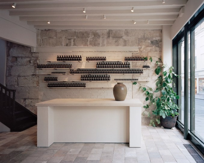 Aesop Bath store, England designed by JamesPlumb