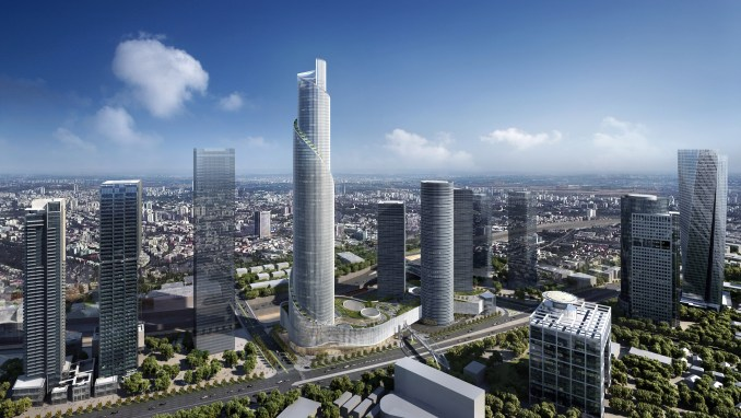 A visual of Azieli Tower by KPF