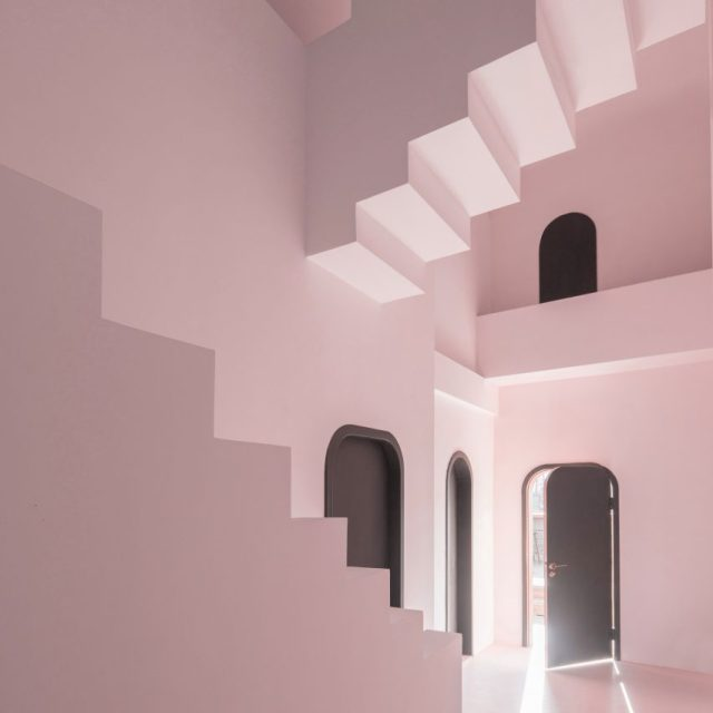 Studio 10 designs M.C. Escher-inspired guesthouse in China
