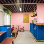 Futura Pairs Pink And Blue At Mexico City Coffee Shop Motin Free Download Architectural Cad Drawings