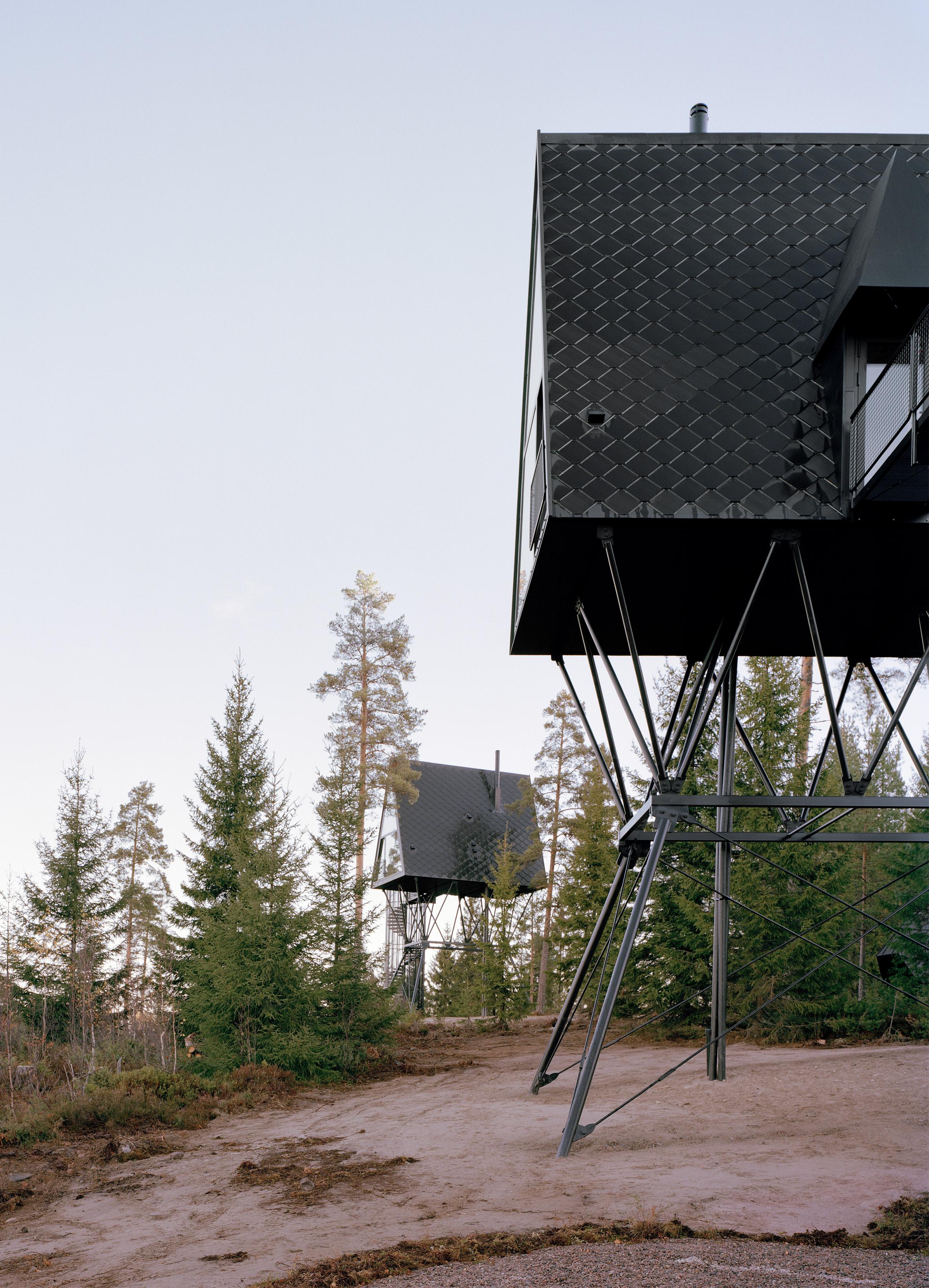PAN Treetop Cabins by Espen Surnevik in Norway