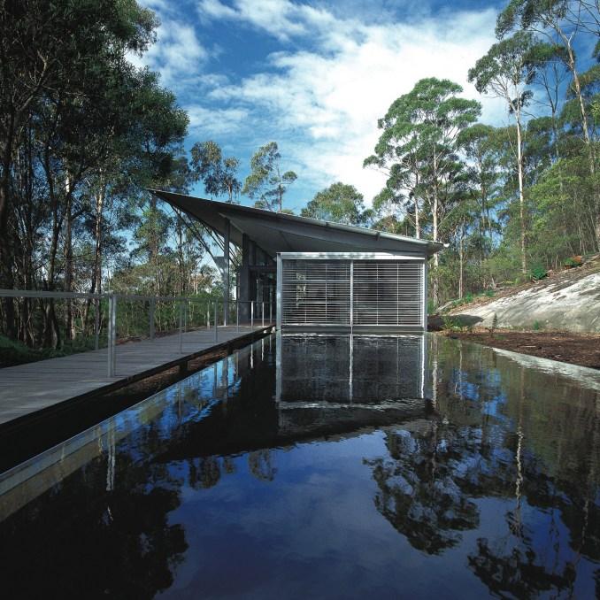 Simpson-Lee House by 2021 Praemium Imperiale laureate Glenn Murcutt