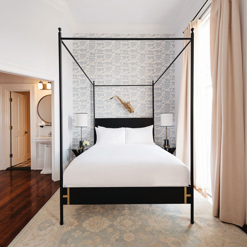 Henry Howard Hotel, New Orleans, by Hunter Mabry Design
