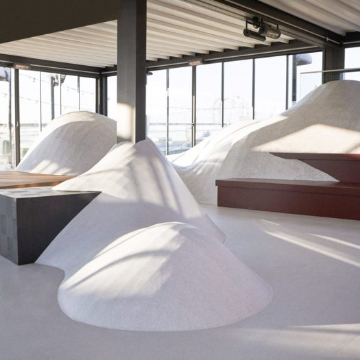 Snowtopped by Note Design Studio and Tarkett at Stockholm Design Week