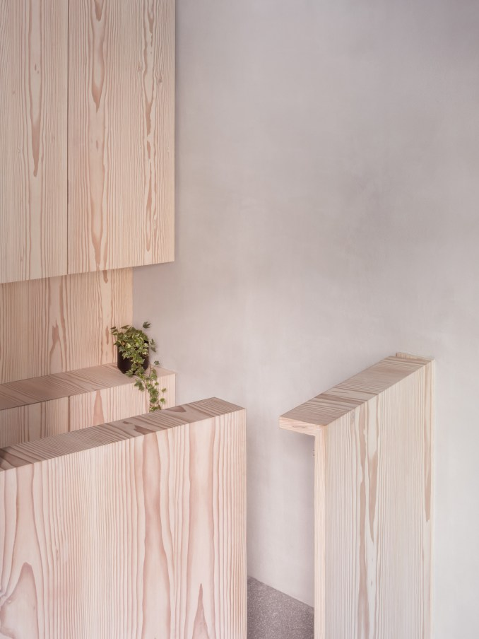 Interiors of Core Kensington pilates studio, designed by Studio Wolter Navarro