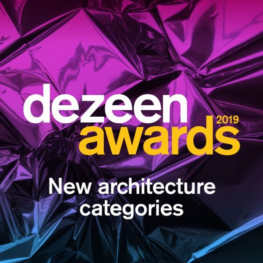 Dezeen Awards 2019 new architecture categories announcement